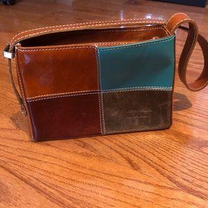 Vera Pelle vintage leather handbag
